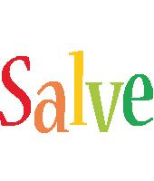 Salve birthday logo