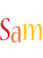 Sam birthday logo