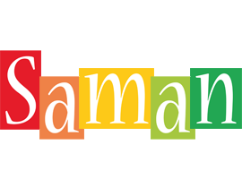 Saman colors logo