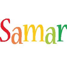 Samar birthday logo