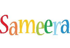 Sameera birthday logo
