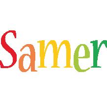 Samer birthday logo