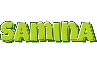 Samina summer logo