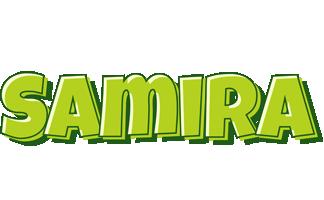 Samira summer logo