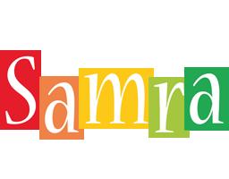 Samra colors logo