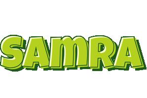 Samra summer logo
