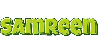 Samreen summer logo