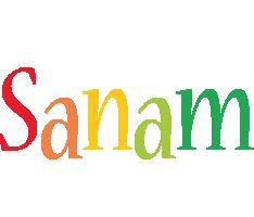Sanam birthday logo