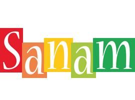 Sanam colors logo