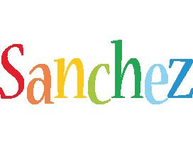 Sanchez birthday logo