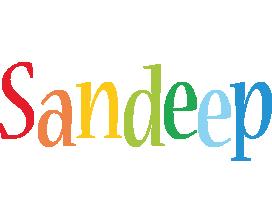 Sandeep birthday logo