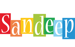 Sandeep colors logo