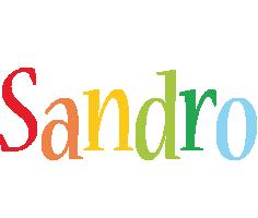 Sandro birthday logo