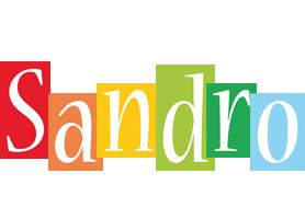 Sandro colors logo