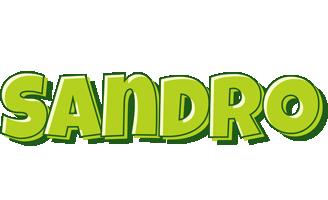 Sandro summer logo
