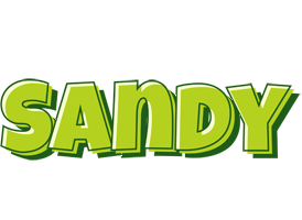 Sandy summer logo