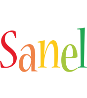 Sanel birthday logo