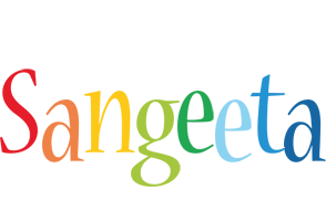 Sangeeta birthday logo