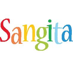 Sangita birthday logo