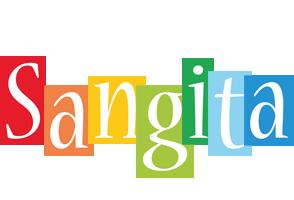 Sangita colors logo