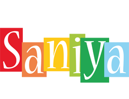 Saniya colors logo