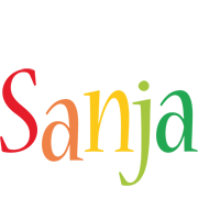 Sanja birthday logo