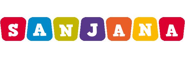 Sanjana kiddo logo
