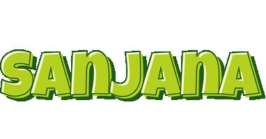 Sanjana summer logo
