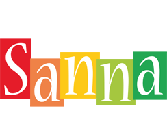 Sanna colors logo