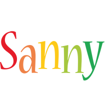 Sanny birthday logo