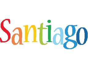 Santiago birthday logo