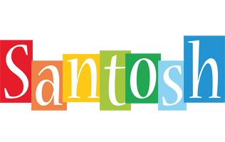 Santosh colors logo