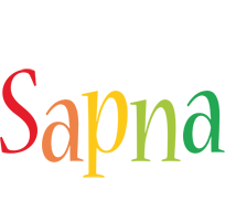 Sapna birthday logo