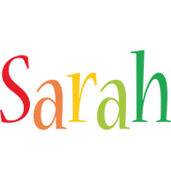Sarah birthday logo