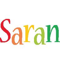 Saran birthday logo