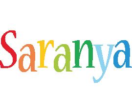 Saranya birthday logo