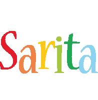 Sarita birthday logo