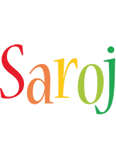 Saroj birthday logo