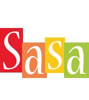Sasa colors logo
