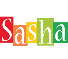Sasha colors logo