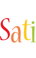 Sati birthday logo
