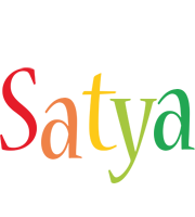 Satya birthday logo
