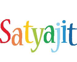 Satyajit birthday logo