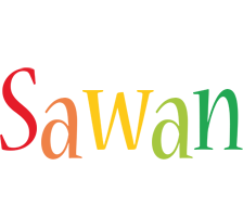 Sawan birthday logo