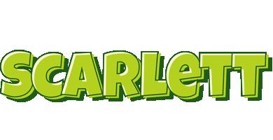 Scarlett summer logo