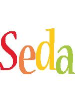 Seda birthday logo