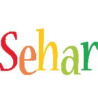 Sehar birthday logo