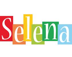 Selena colors logo