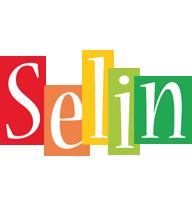 Selin colors logo