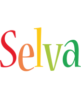 Selva birthday logo